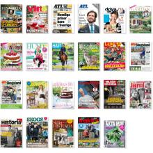 LRF Media, magazines and newspapers